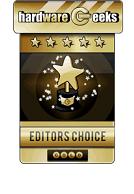 Hardware Creek, a szerkesztők választása díj