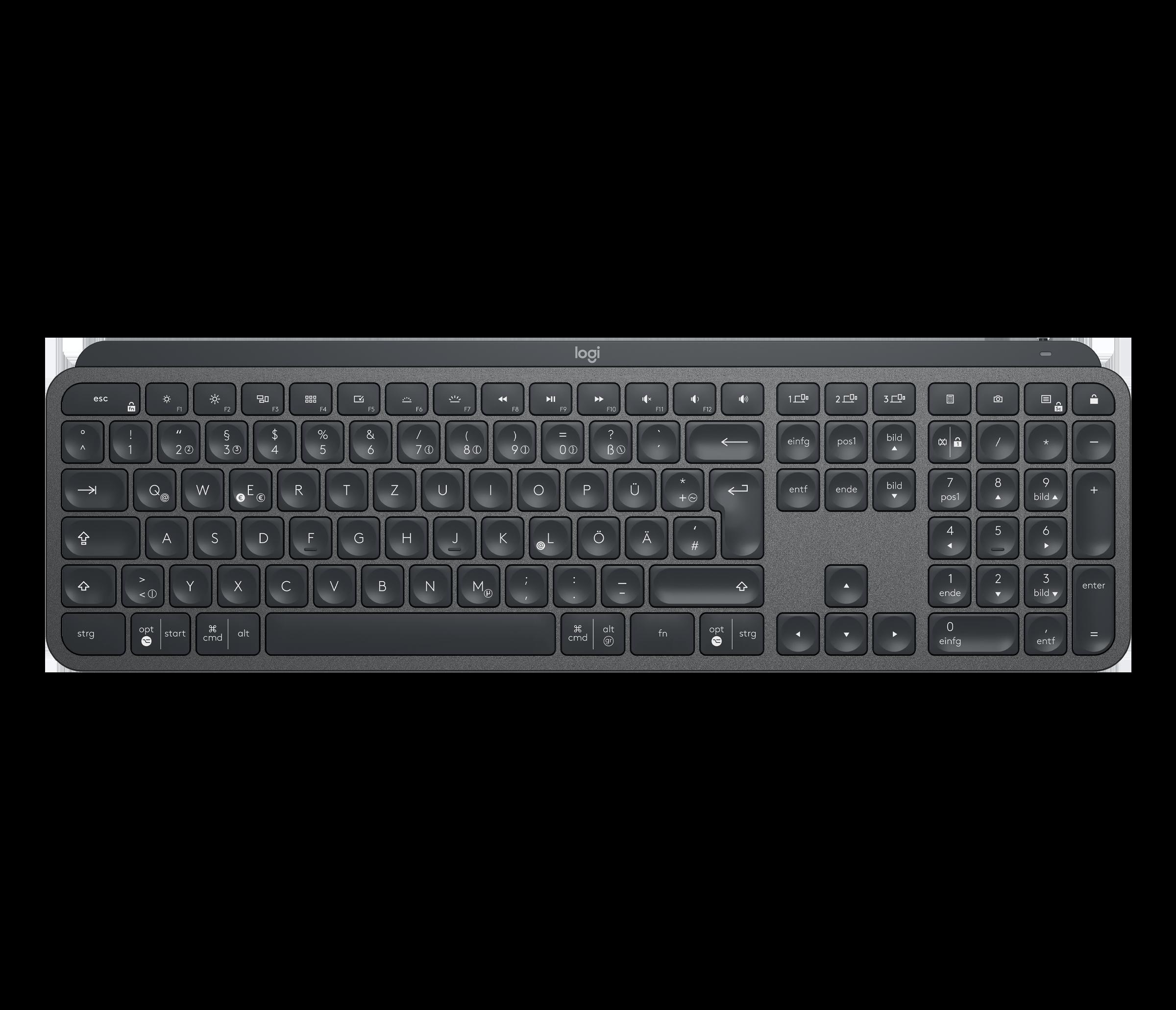 Test klawiatury Logitech MX Keys