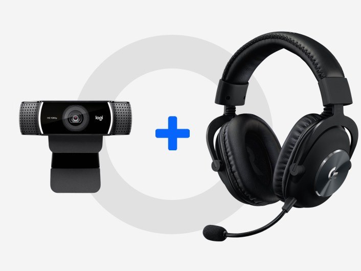 C920s and G Pro X Headset