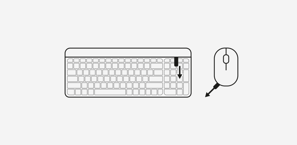 How to setup Keyboard step 1