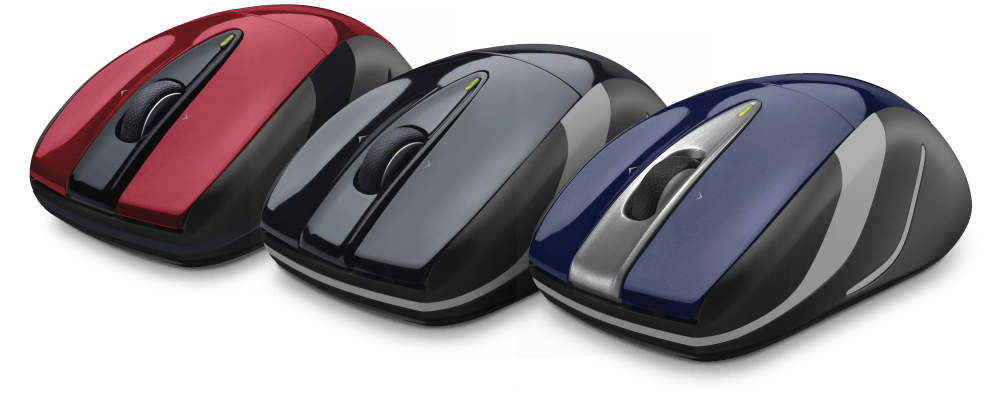 M525 mouse with 3 variants