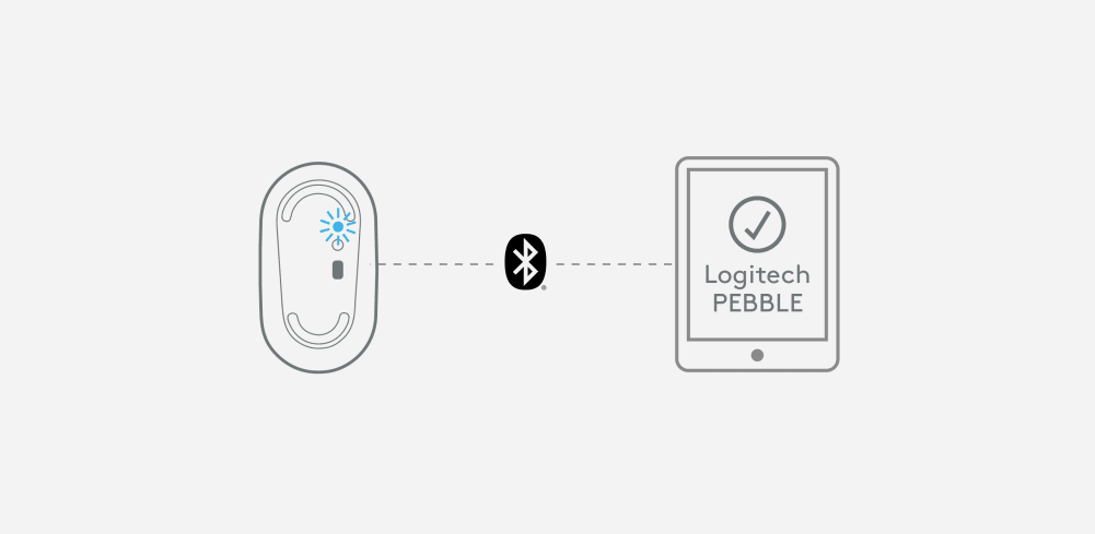 Pebble i345 connecting to your iPad via Bluetooth.