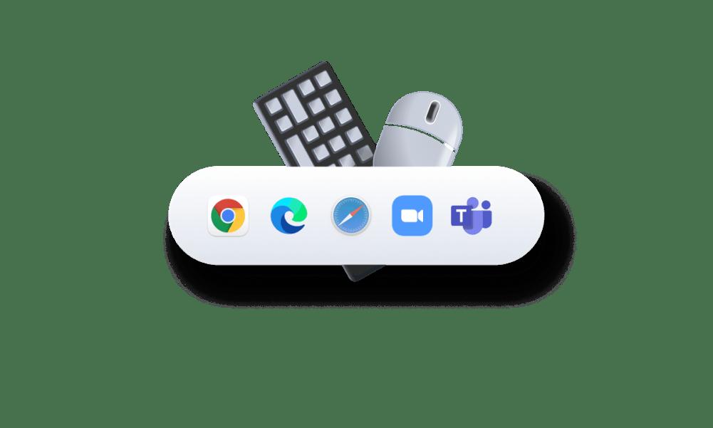 Puedes configurar totalmente tus dispositivos para cada aplicación que uses.