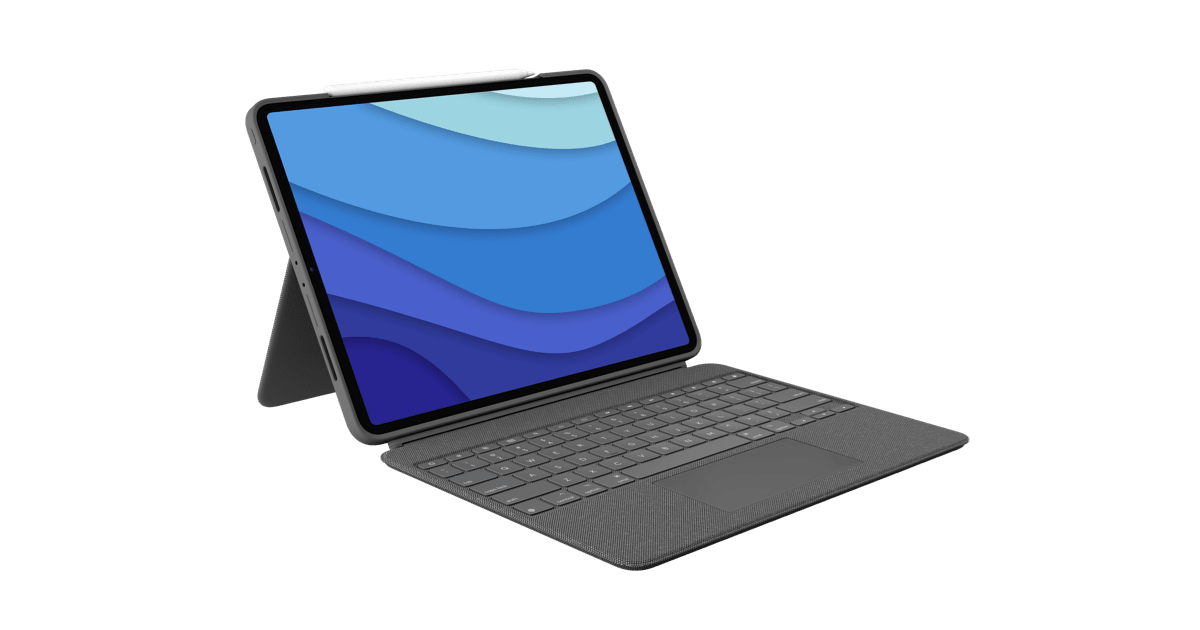 Logitech Combo Touch - iPad Pro Keyboard Case with Trackpad