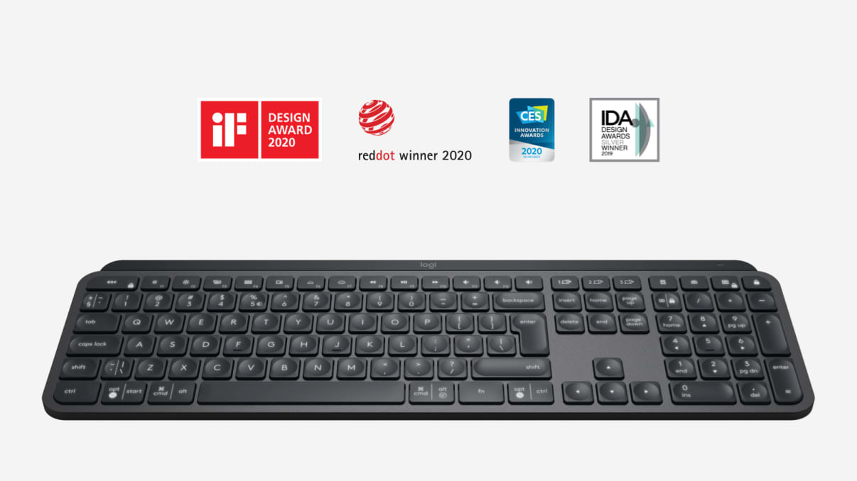 MX keys wireless keyboard