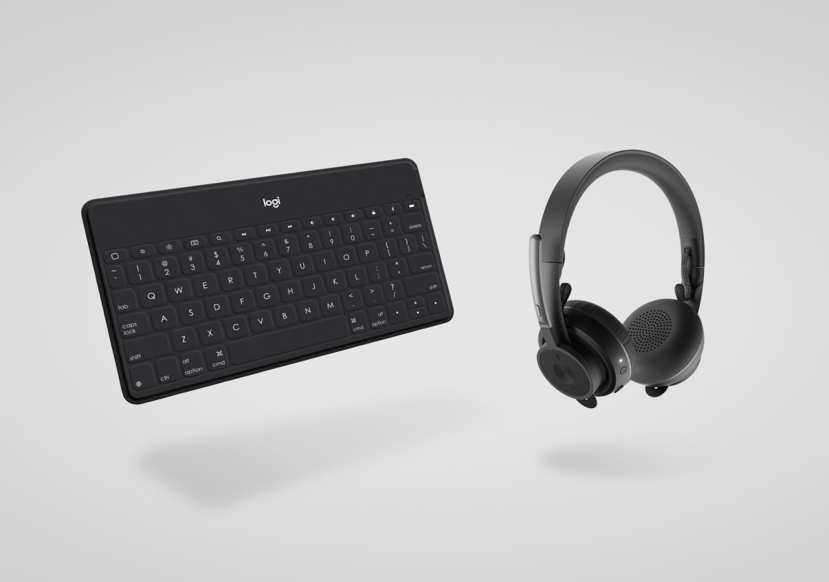 smartphone keyboard, headset collection