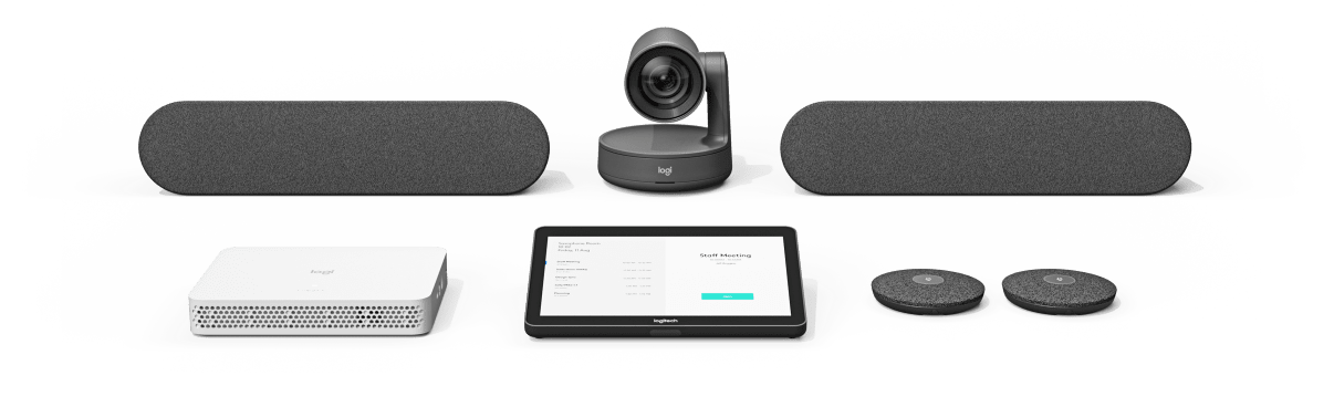 logitech's premium modular conference camera system