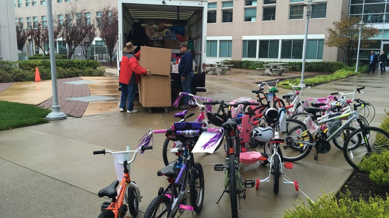 Dons Adopt an angel bike