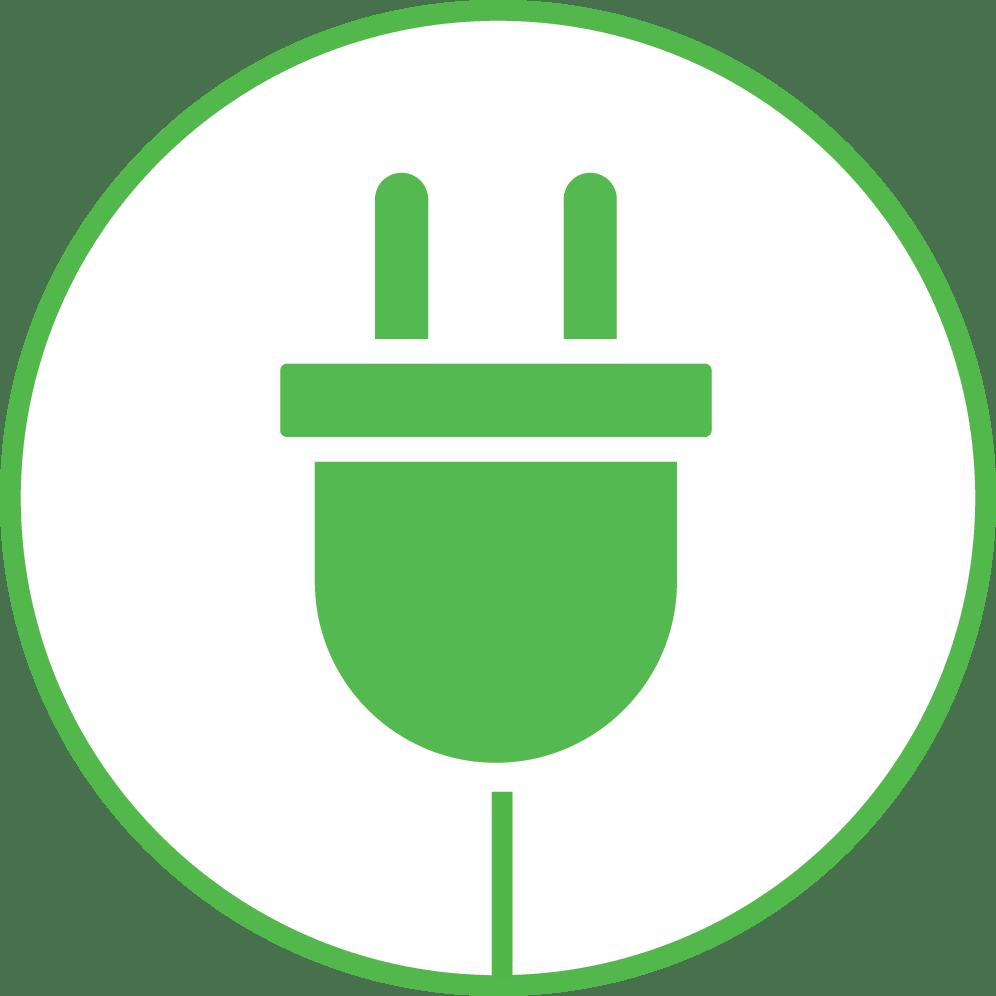 ikontérkép zöld kép