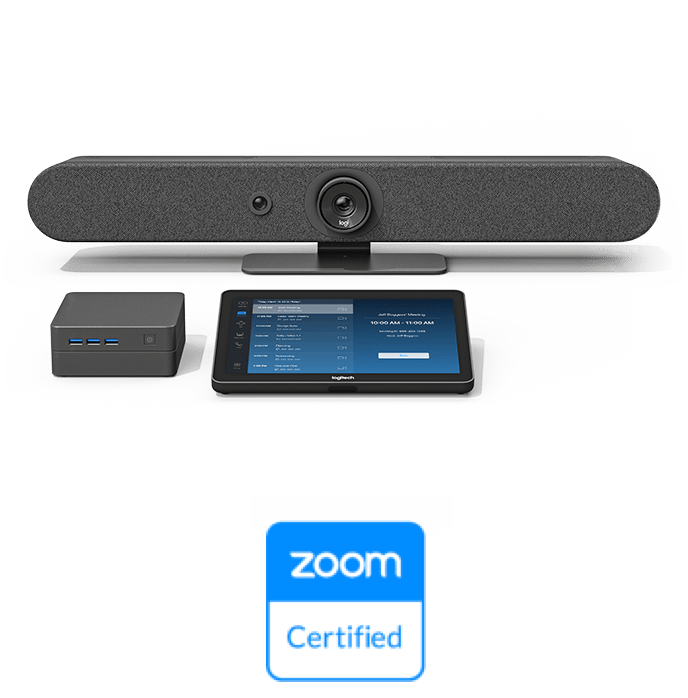 Logitech + Intel + Zoom products