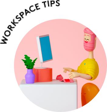 Workspace tips for Headsets