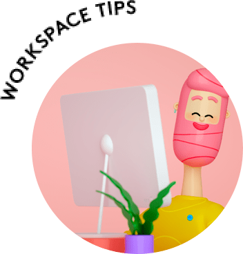 Workspace tips for Webcams