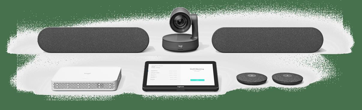ロジクールの上質のモジュール式会議カメラシステム