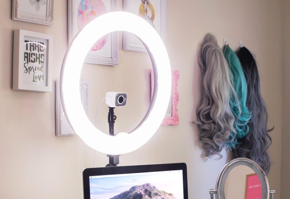 Ring Light setup