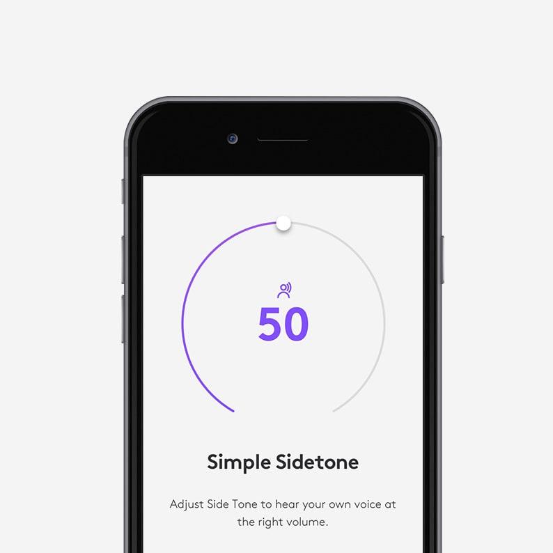 Beheren met LogiTune-app