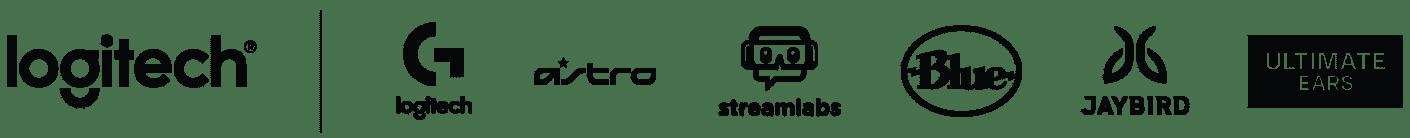 Logitech | Logitech G | ASTRO | Streamlabs | Blue | JAYBIRD | ULTIMATEEARS