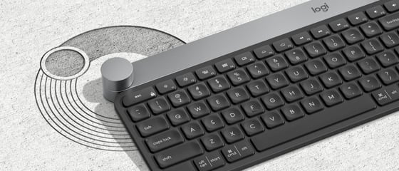 Abbildung einer Logitech Tastatur
