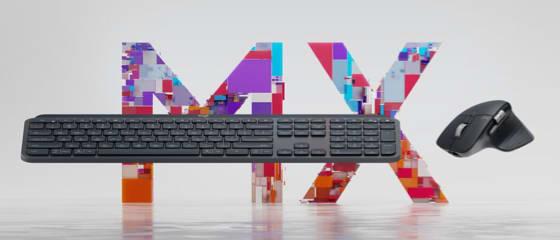 Imagem do teclado e mouse Logitech MX Master