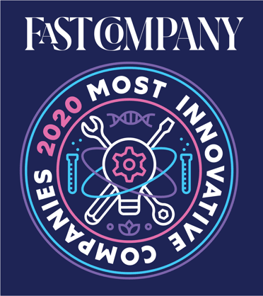 Fast company most innovative company badge