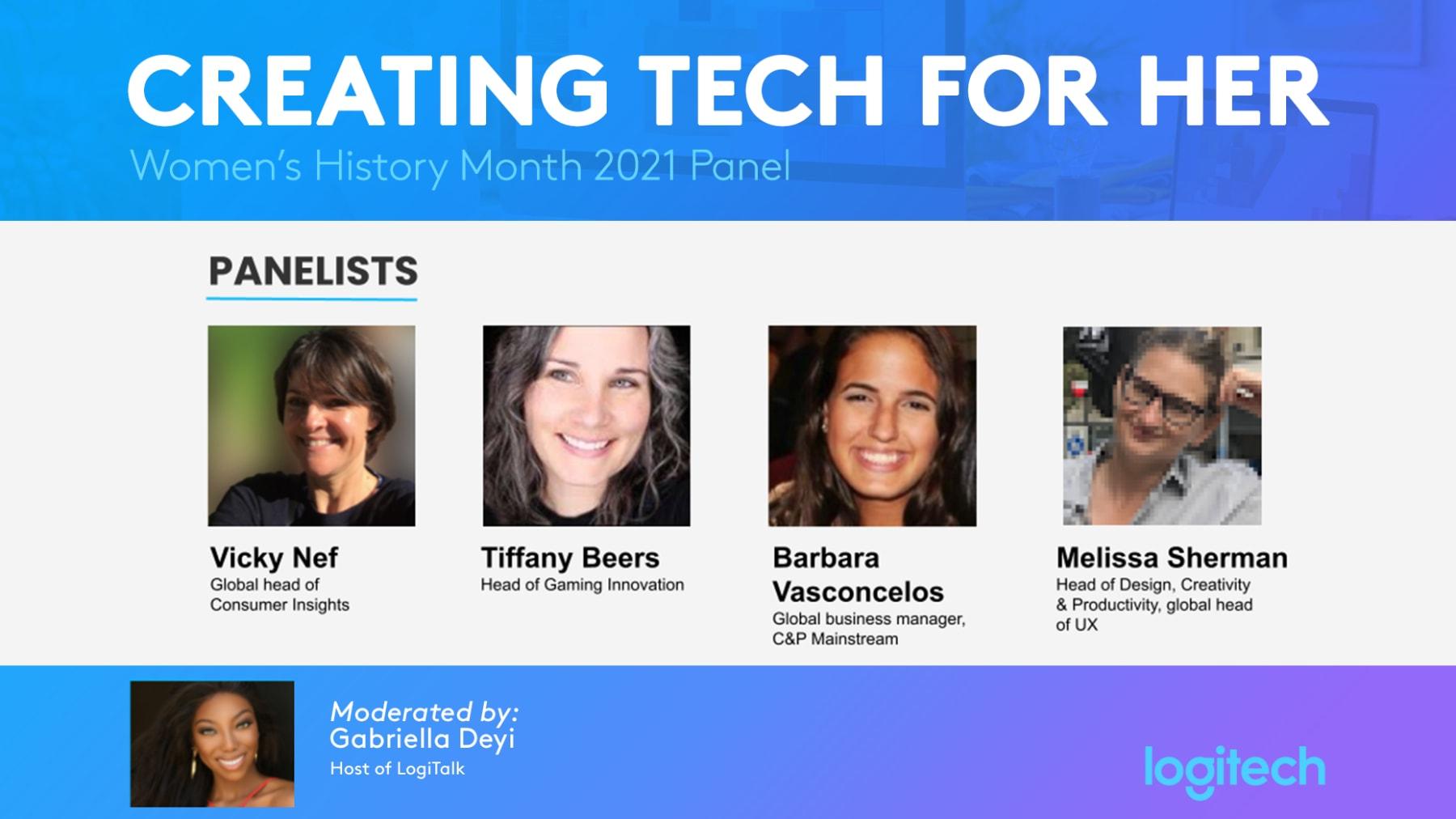Kvinnlig teknikpanel för kvinnohistoria