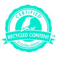 Certified Recycled Content-logo van SCS Global Services