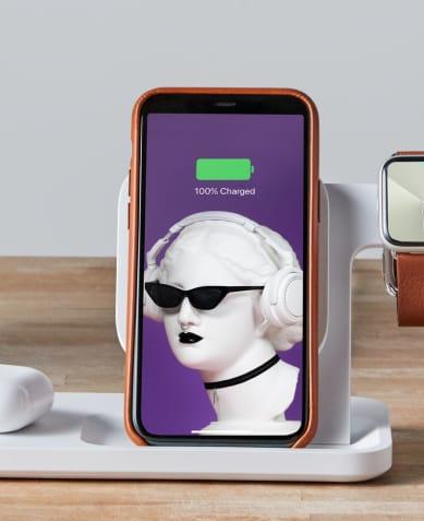 FUNKTIONIERT AUCH MIT SMARTPHONE-HÜLLE