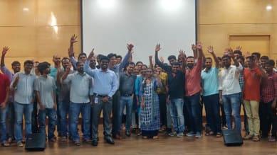 Logitech Chennai employees
