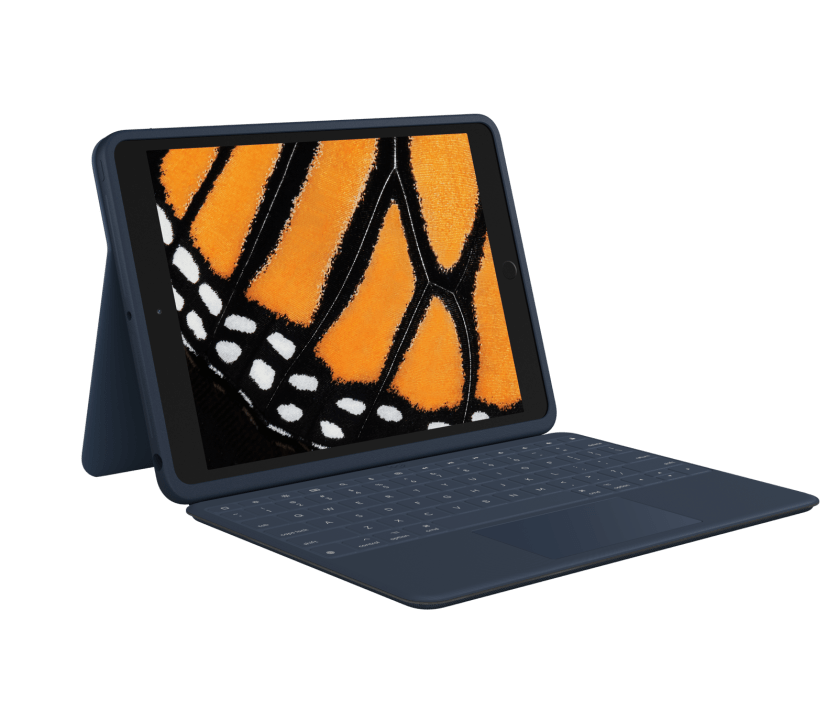   Protective keyboard case with trackpad for iPad (7th and 8th gen)