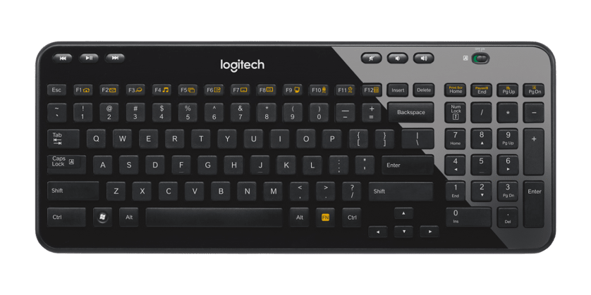 | Compact and thin wireless keyboard