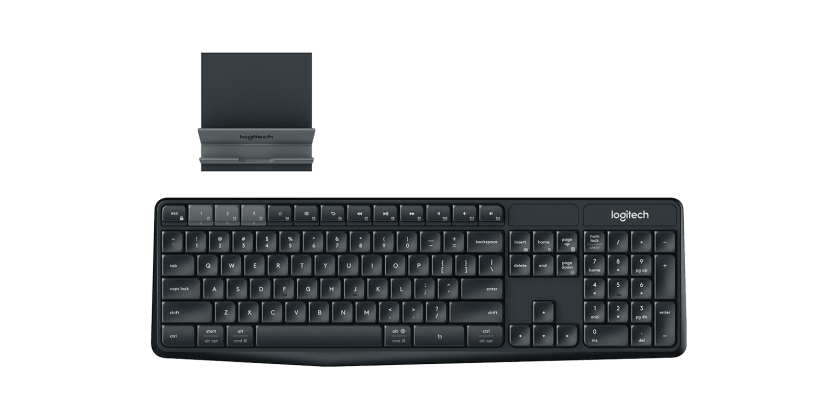   Wireless Keyboard and Stand Combo