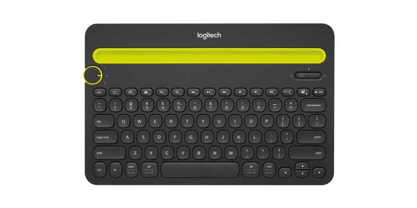 | A wireless desk keyboard for your computer, tablet and smartphone