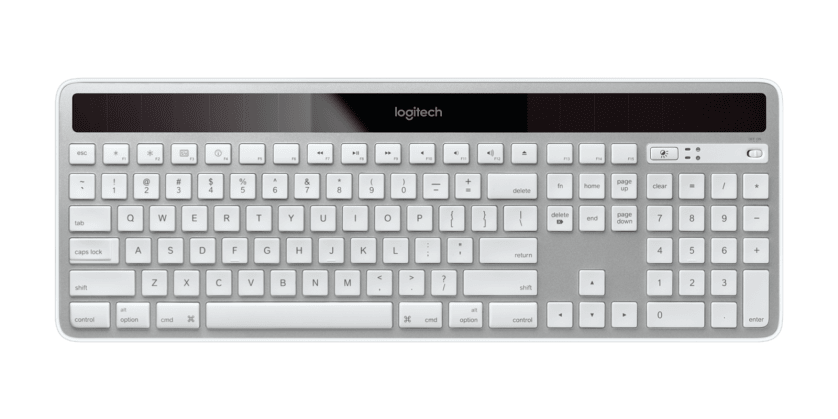 | Ultra-slim and solar powered keyboard for Mac