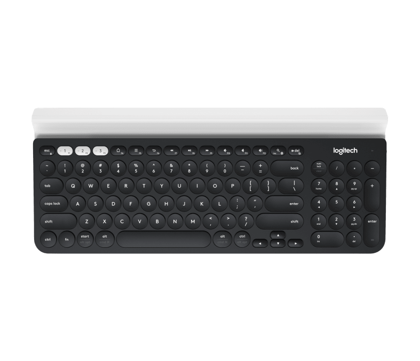 | One keyboard. Fully equipped. For computer, phone, and tablet.