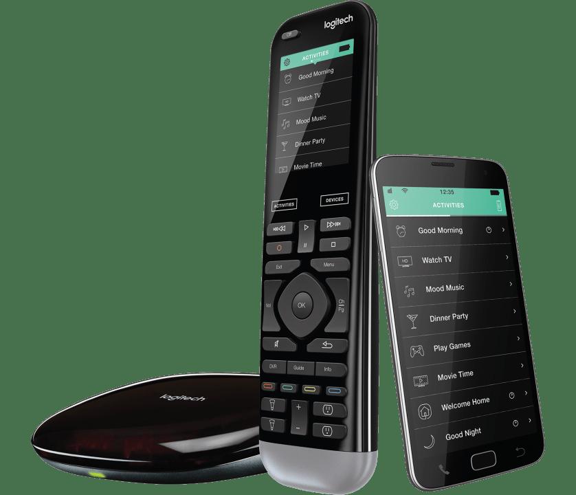   Advanced remote, hub and app