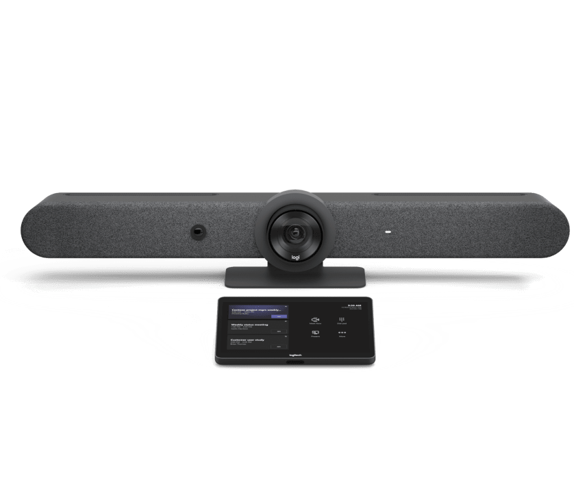 | Pre-configured video conferencing systems for small, medium, and large rooms with built-in support for Microsoft Teams
