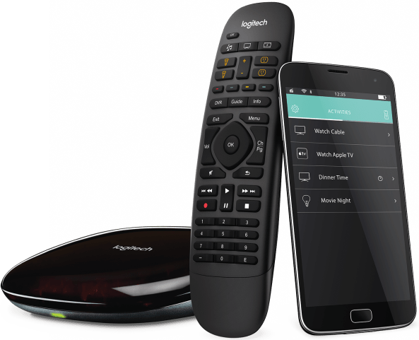 harmony companion remote control, smartphone app and hub