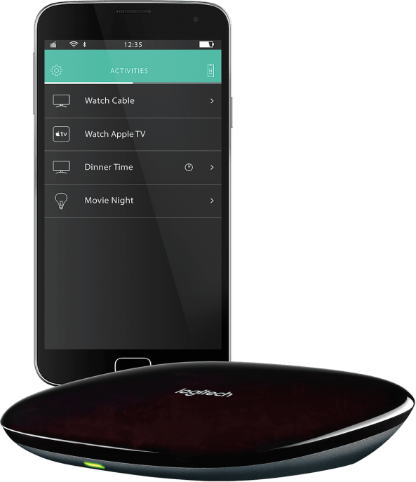 harmony hub and smartphone app