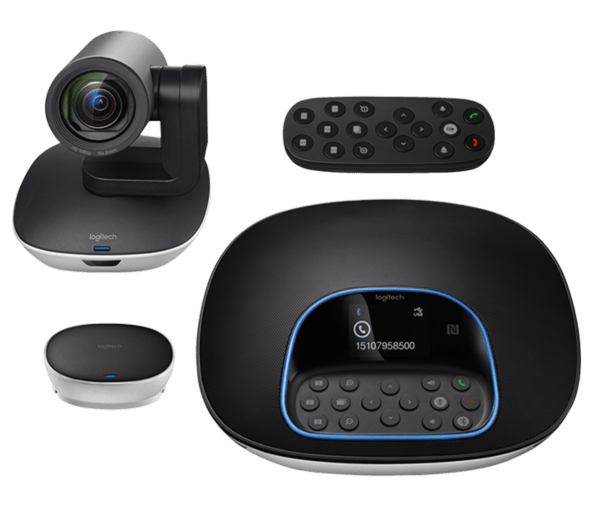 Logitech video conferencing system