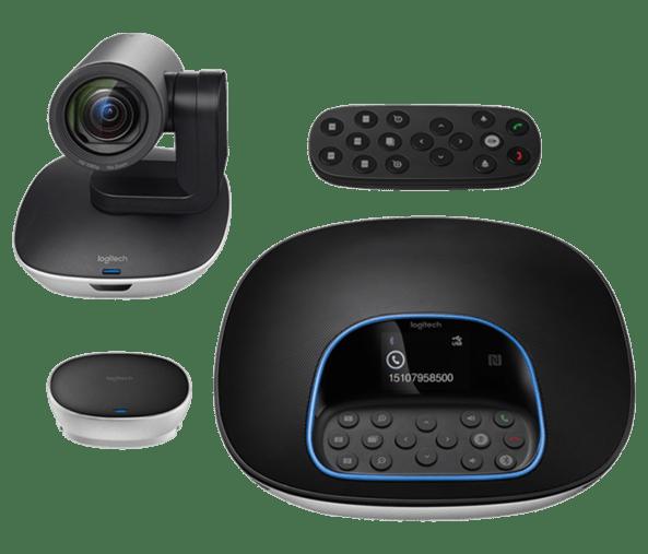 Sistema de videoconferencias con Logitech