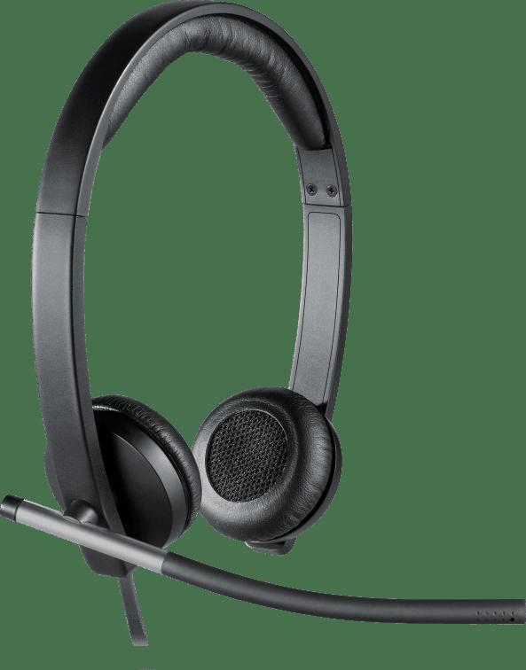 audífonos con micrófono logitech h650e