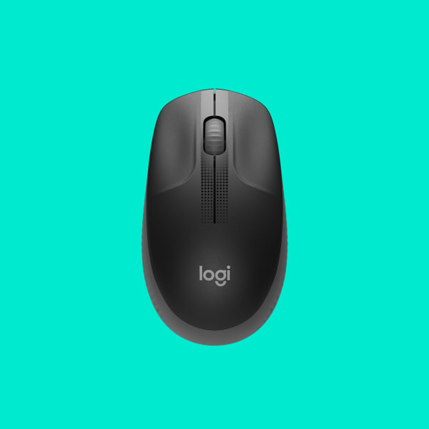 M190 Full-Size Wireless Mouse