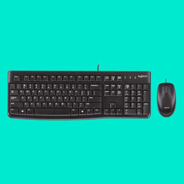 Combo de teclado e mouse MK120 USB