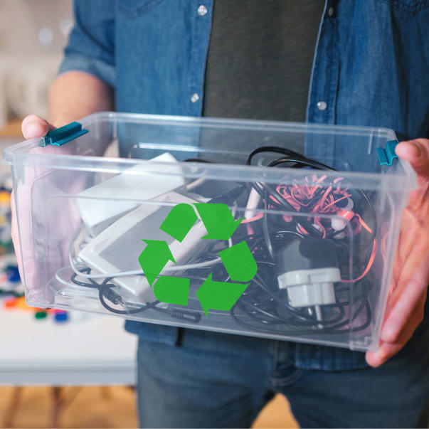 recycling van e-waste