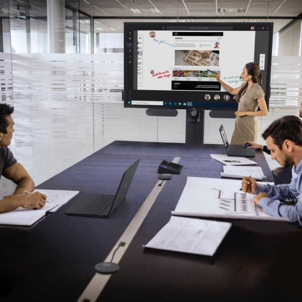 Video conferencing with Logitech products