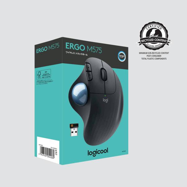 リサイクル認定付きのErgo M575パッケージ