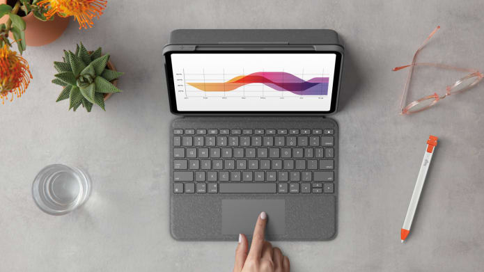 Folio Touch has detachable keyboard with multi-touch trackpad
