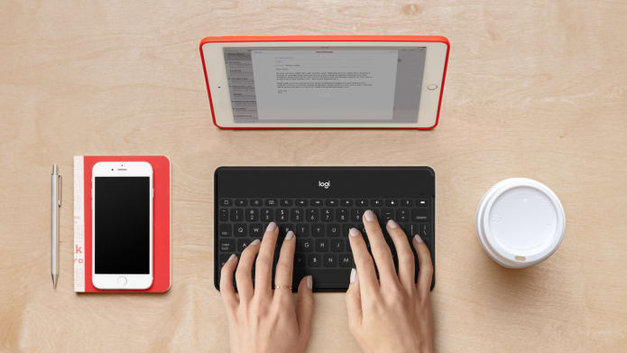 Typing on bluetooth keyboard for mobile devices with Keys To Go