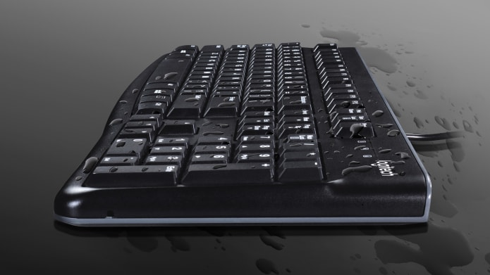 SPILL RESISTANT KEYBOARD