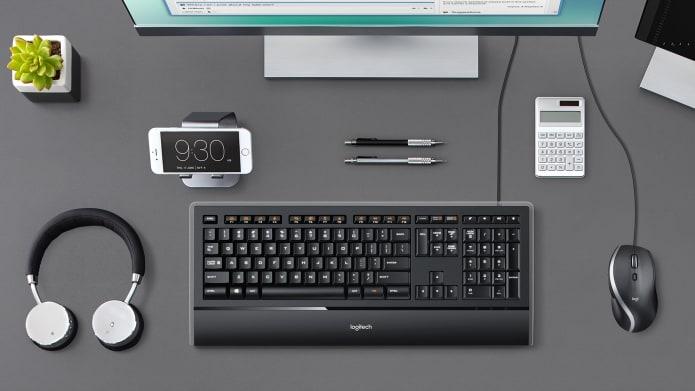 Keyboard mouse workstation setup