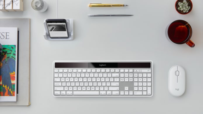 Full-sized keyboard in an ultra-thin design